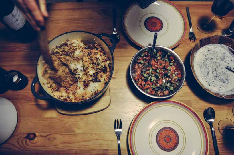 loobia polo iranian lamb recipe